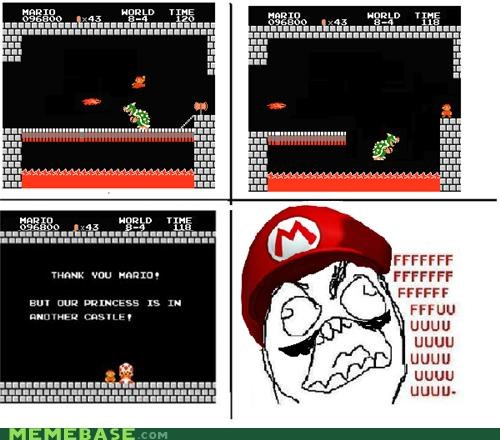 comics fu mario Memes nintendo Rage Comics super mario brothers video games - 4165211136