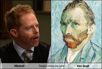 Mitchell Totally Looks Like Van Gogh