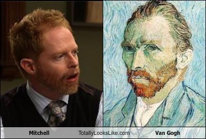 jesse tyler ferguson mitchell pritchett Modern Family redhead Vincent van Gogh - 4165420544