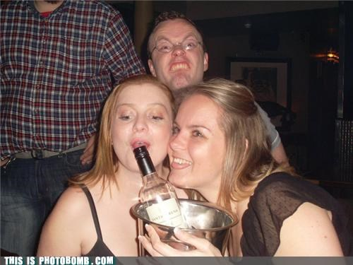alcohol,bro,evolution,glasses,Party,photobomb,women