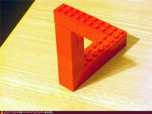 impossible shapes legos penrose triangle triangle wtf - 4165760256