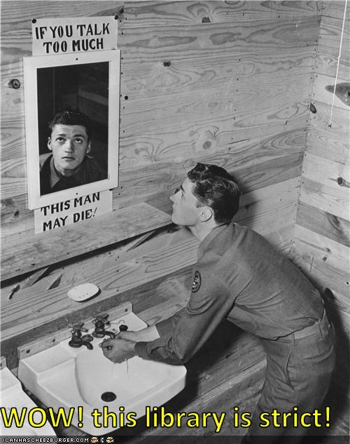 bathroom,loose lips sink ships,military,mirror