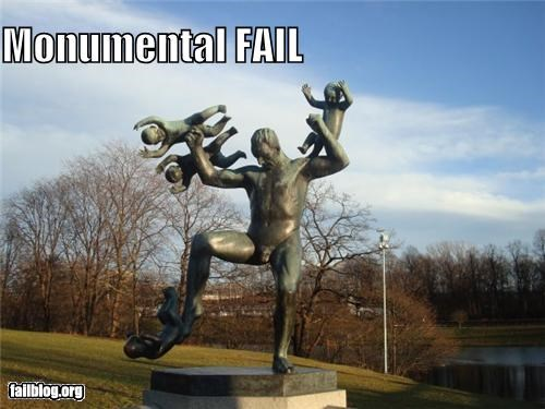 bad idea,failboat,g rated,statue