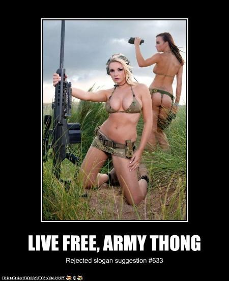 army demotivational funny lolz sexy weapons - 4167963136