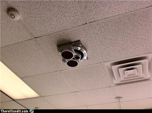 hole in the ceiling Professional At Work speakers - 4168810496
