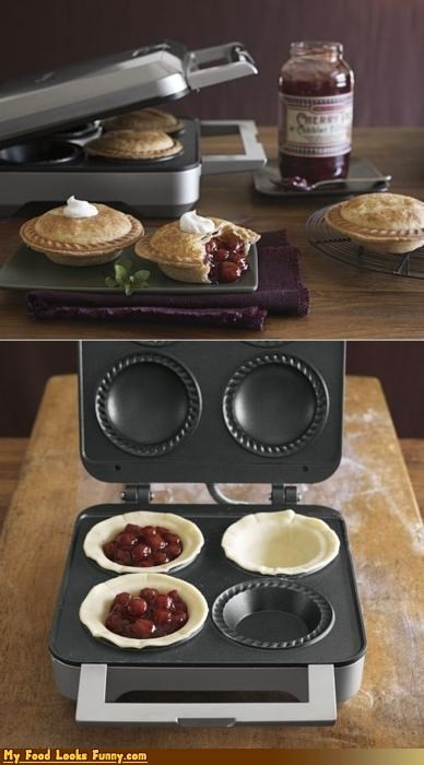 appliances baking cherry mini pies pie maker pies Sweet Treats - 4169433600