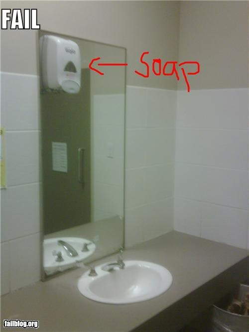 bad idea bathroom failboat planning soap washing your hands - 4169442560