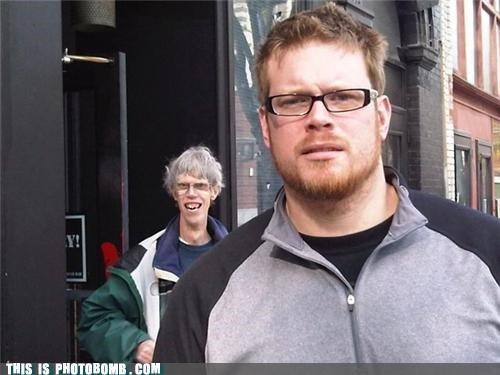 awesome epic glasses looks like family photobomb - 4170294016