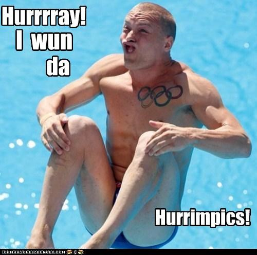 derp olympics splash swimming winhurrr - 4170491648
