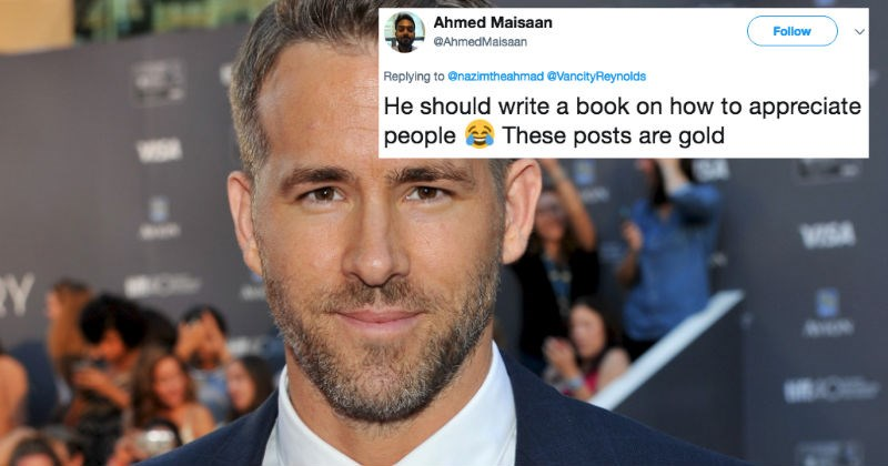 Ryan Reynolds has the perfect, funny birthday message to his brother on Twitter.