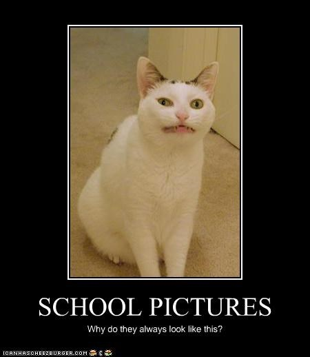 SCHOOL PICTURES Why do they always look like this?
