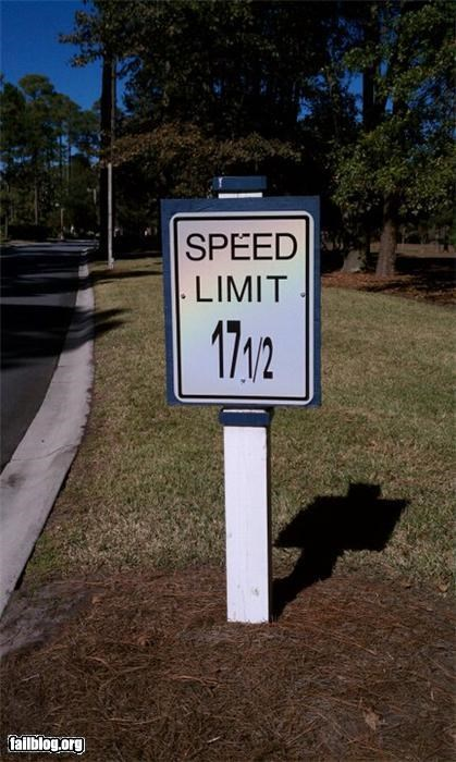 Oddly Specific: Speed Limit Precision