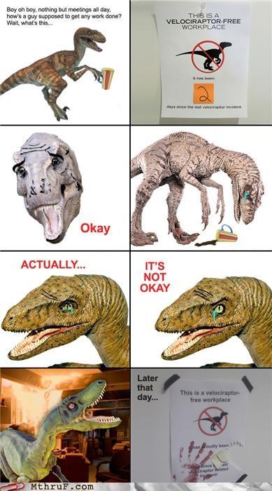 comics Raptor signs velociraptor - 4172028672