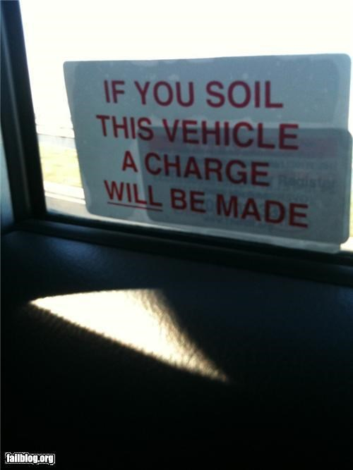 car charges failboat oddly specific soil sticker - 4172130304