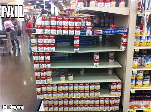 About to Fail display failboat g rated grocery store soup - 4172166912