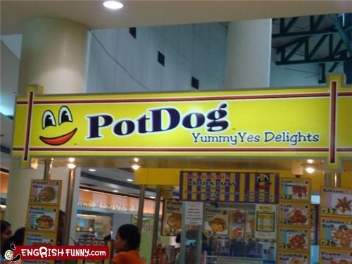 illegal treats,pot hot dogs,yummy delights