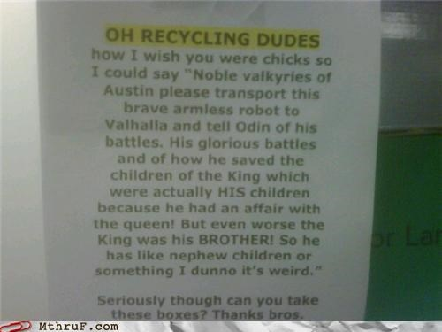 recycling dudes