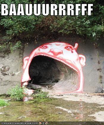 all better bark drawins graffiti gutter lets-go-in-guise tunnel - 4173826560
