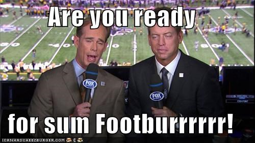announcers,football,not fartball,Sportderps,sports