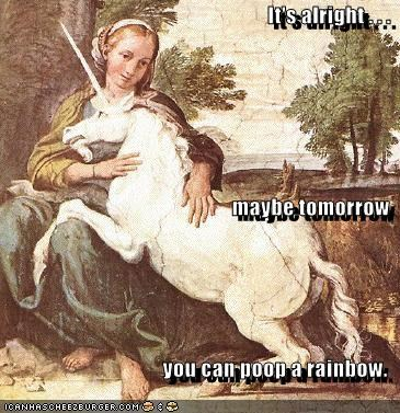 art funny mythology painting unicorn - 4174234624
