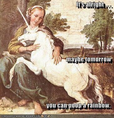 art funny mythology painting unicorn - 4174234624