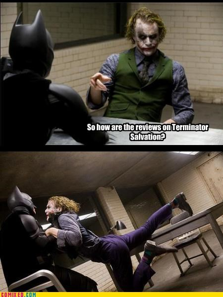 batman christian bale cultural criticism joke joker reviews terminator