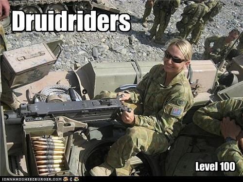 Druidriders Level 100