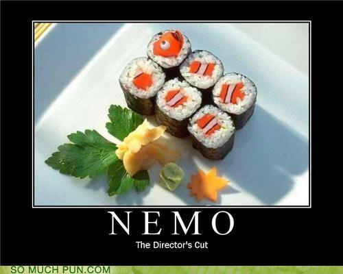 cut,delicious,directors-cut,disney,finding nemo,food,NEMO,noms,sushi,wasabi