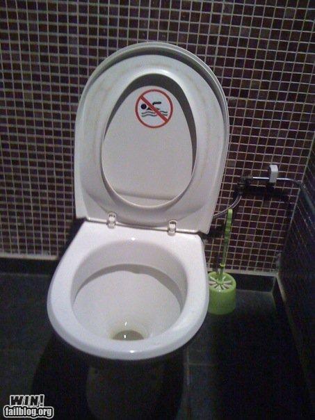 bathrooms sticker toilet - 4175448320
