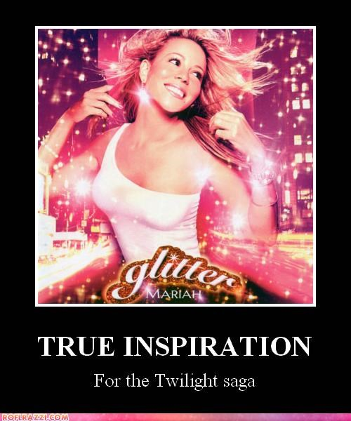demotivational glitter lolz mariah carey twilight - 4175480576