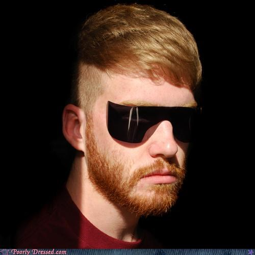 back to the future beard ginger sunglasses - 4175543040