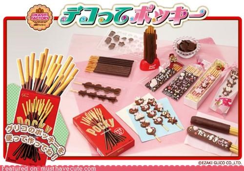 chocolate,customize,gadget,Kitchen Gadget,modify,personal,Pocky,snack