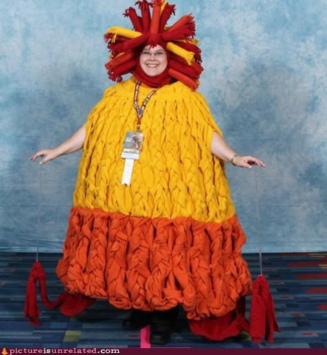 babe costume fire hot mama thanksgiving Turkey wtf - 4175614464