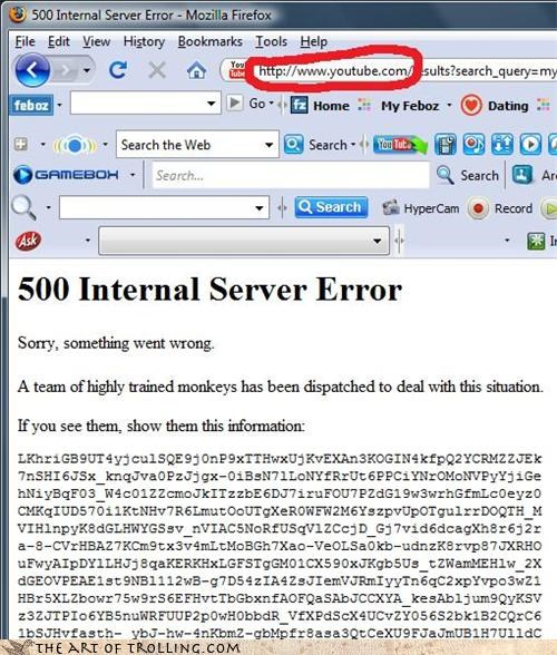 404 error monkeys tech support when you see them youtube - 4175785472