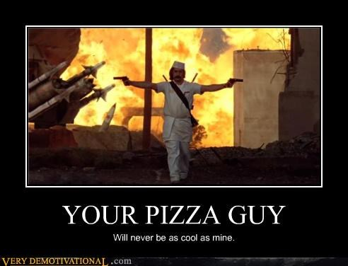 awesome black ops call of duty commercial explosion guns guy pizza