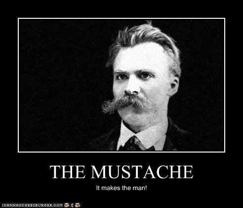demotivational gentleman mustache Photo photograph - 4176150016
