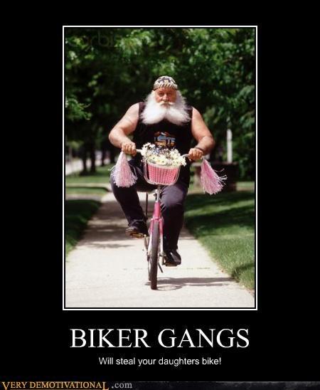 bikers bikes epic beard funny stealing thief - 4176168192
