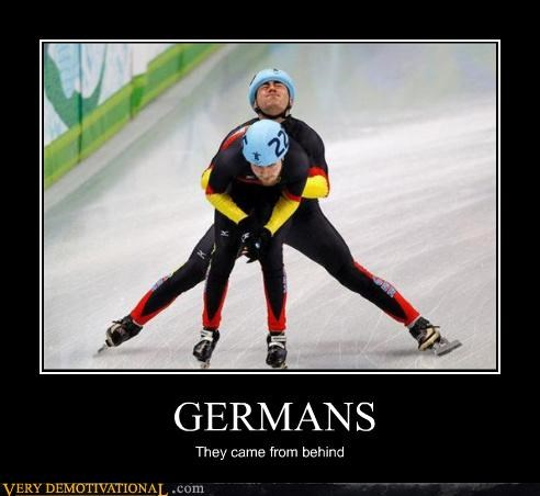 athletes,germans,ice skating,implied sexual encounter,puns,sports