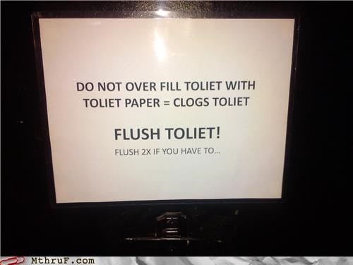 bathroom misspelling notes toilet - 4177014784