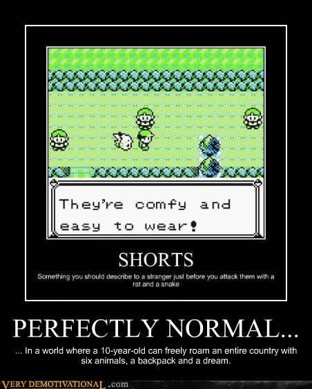 PERFECTLY NORMAL...