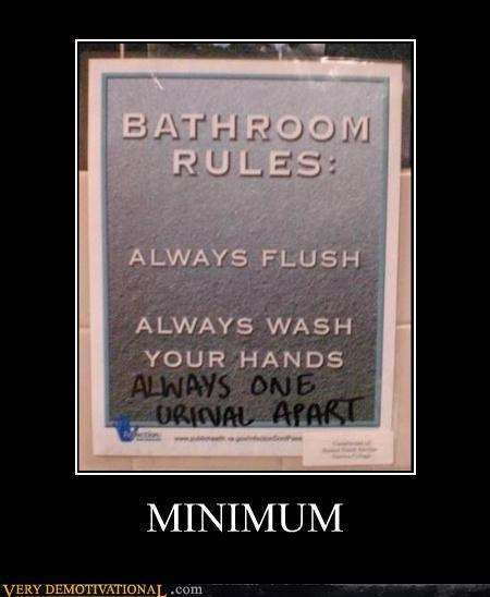bathroom humor graffiti rules toilets - 4177371648