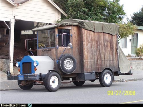 retro rv wood - 4177451264