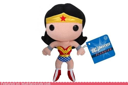 DC Universe doll Plush wonder woman - 4177494784