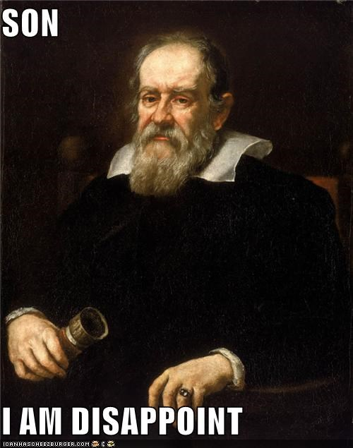 art funny galileo painting portrait science - 4177500160