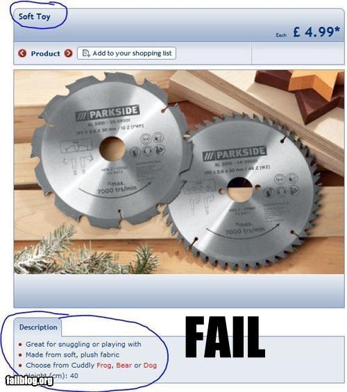 blades description failboat g rated saw soft toys - 4177718016