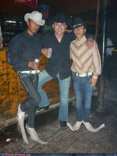amazing,boots,clown shoes,Cowboys