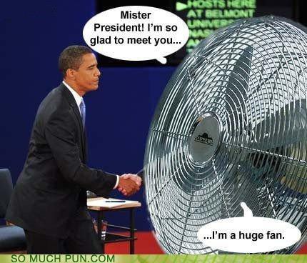 barack obama double meaning excited fan huge literalism meeting obama president - 4178374912