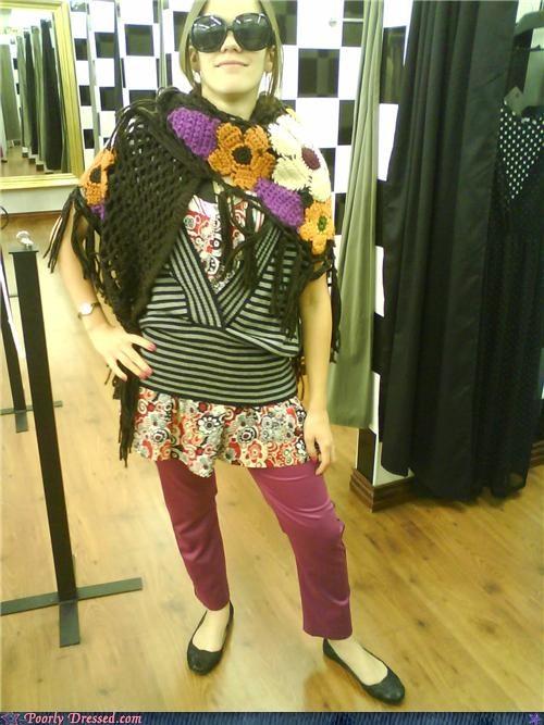 bohemian sunglasses woven yarn - 4178399744