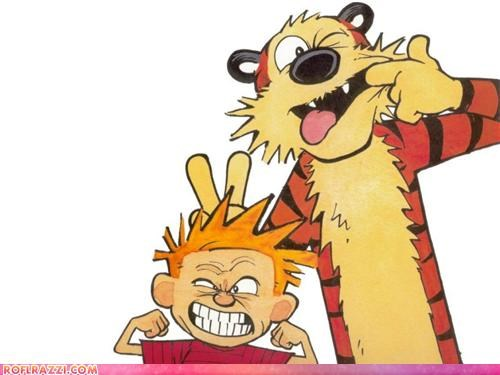 awesome bill watterson calvin and hobbes comic