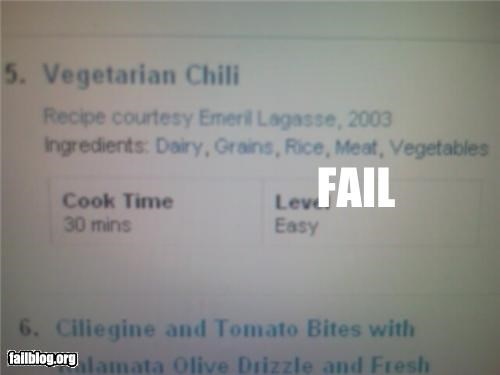 chili,failboat,food,meat,rated g,really,vegetarian